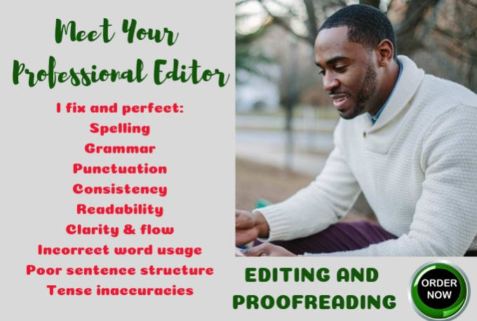 get a document professionally proof read