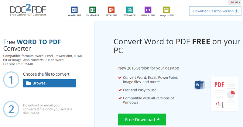 convert html document to pdf online free
