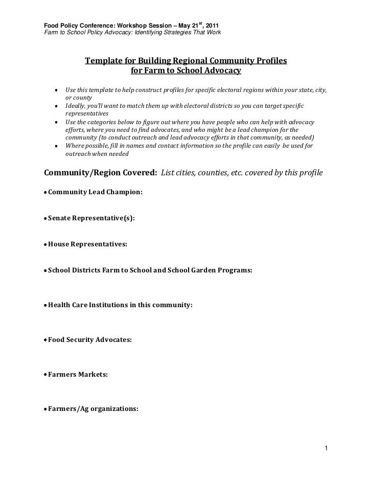 responsibilities relating to the policy document