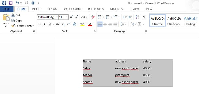 text document to word converter