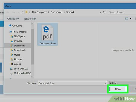 how to edit a scanned pdf document