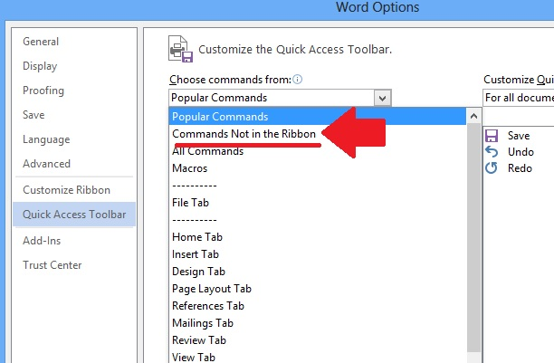 how to make a word document read only 2016