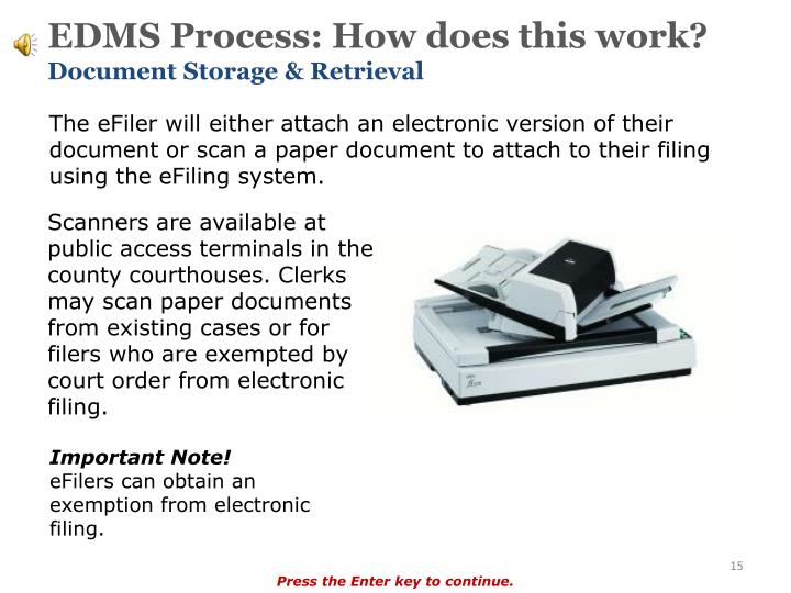 electronic document storage and retrieval system edms
