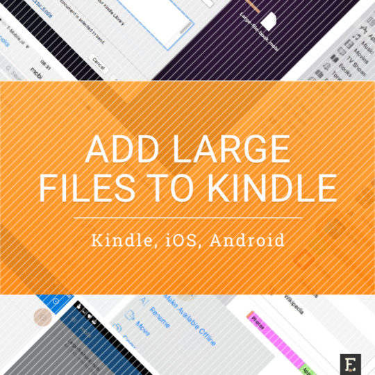 kindle on android personal document to book