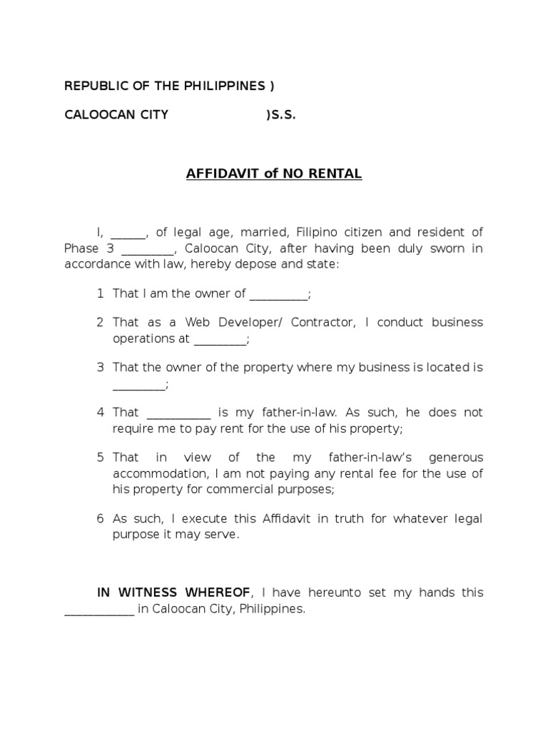 document ownership of personal property