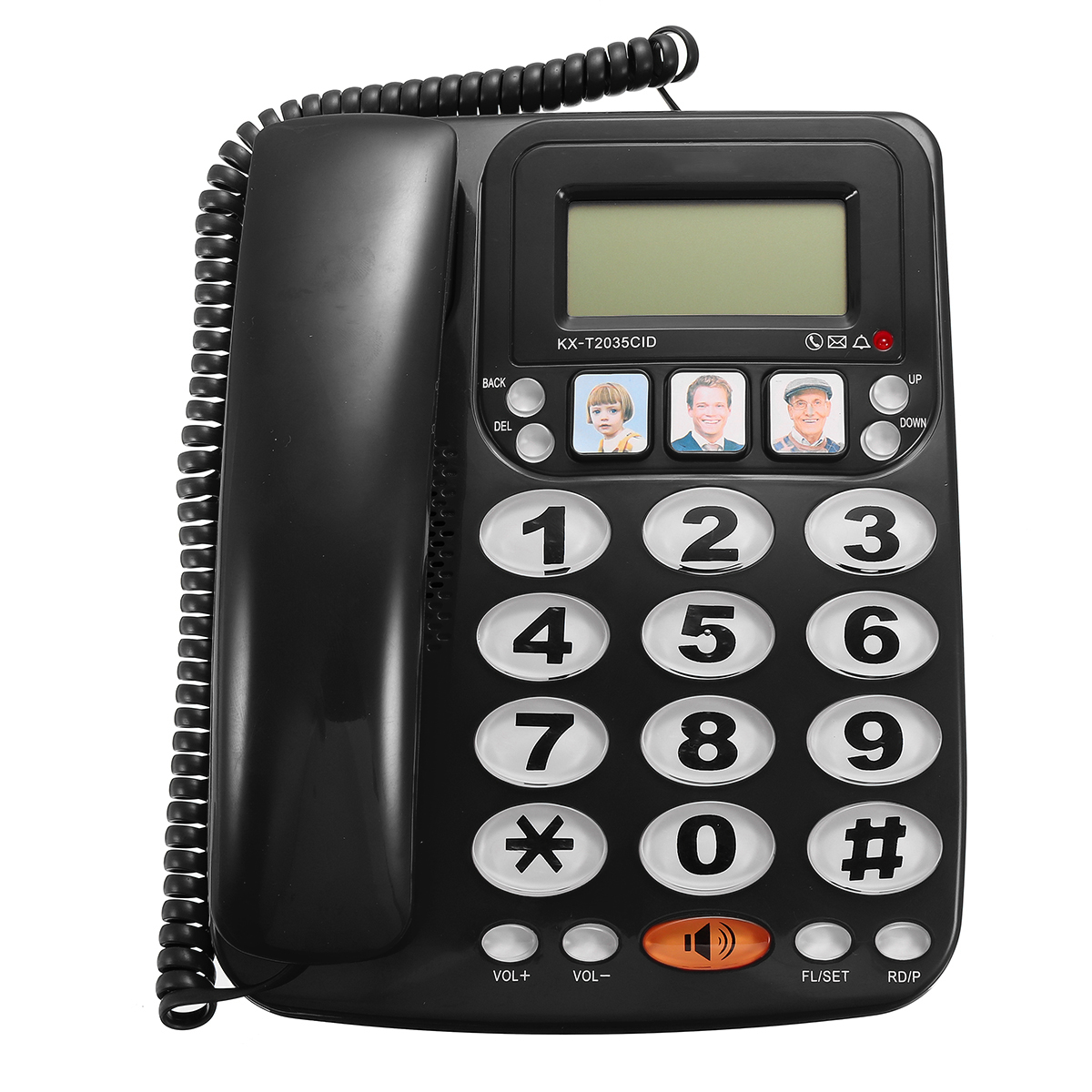 incoming fax document from caller id