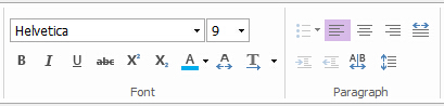 change text in pdf document
