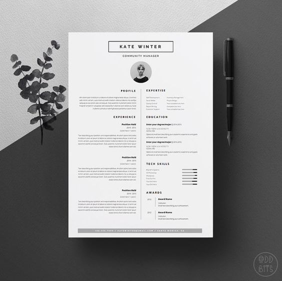 cv templates free download word document creative