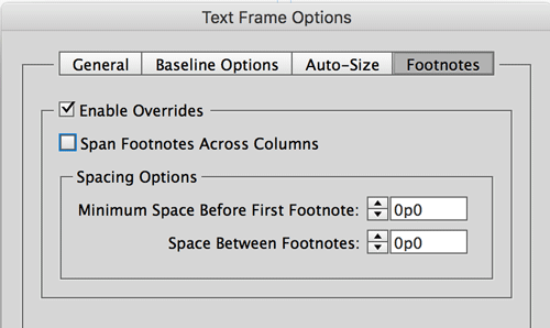 how to set up document indesign