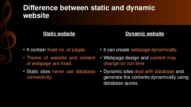 difference between a website and web document