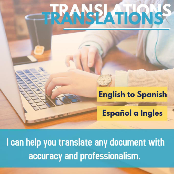 how to translate a document from spanish to english